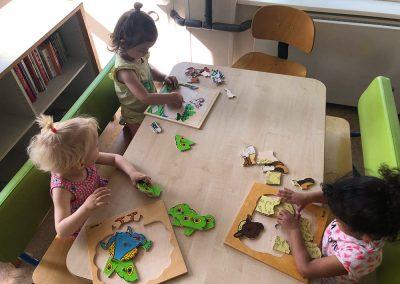 Puzzelen bij Jillz Kinderdagverblijf Amstelveen Benderslaan